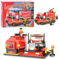 Конструктор SL Пожежний М38-В0220 пожежна машина,281дет