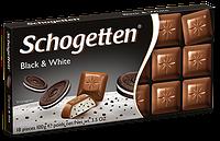 Шоколад Schogetten Black & White, 100г
