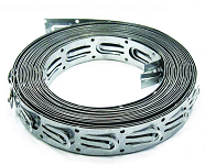 Лента монтажная для толстого кабеля 4-8 мм. Шаг 2,5 см