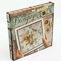 Набор для творчества Часы Decoupage Clock с рамкой Danko Toys