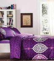 Плед-покрывало 220х240см Buena фиолетовое Karaca Home
