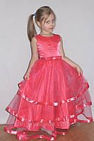 """Платье """"Золушка""""(коралл).Детская одежда для девочек."""