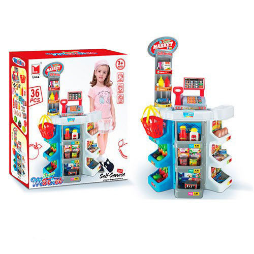 21a9465d1a5a Детский игрушечный магазин с корзиной супермаркет - интернет-магазин