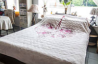 Плед-покрывало 220х240см Love pudra Karaca Home