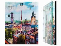 Часы на стену Панорама города