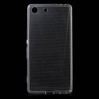Силиконовый чехол 0,33 мм для Sony Xperia M5 / Xperia M5 Dual прозрачный