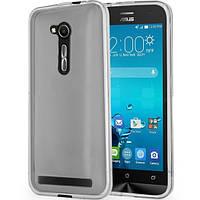 Силиконовый чехол 0,33 мм для Asus Zenfone Go (ZB452KG) серый
