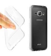 Силиконовый чехол 0,33 мм для Samsung J120F Galaxy J1 (2016) серый