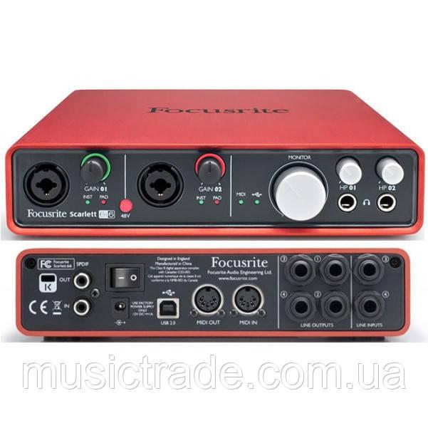 Аудиоинтерфейс Focusrite Scarlett 6i6