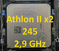 Процессор AMD Athlon II X2 245 2.9GHz, sAM3, Tray  215 220 240 250 255