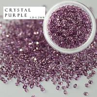 Хрустальная крошка Crystal pixie (аналог) Lt. purple 100 шт.
