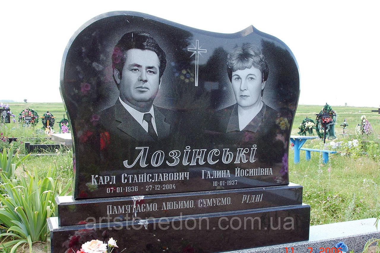 Элитный памятник для двоих