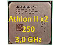 Процессор (б/у) AMD Athlon II X2 250, 3.0GHz, sAM3, Tray  240 255 260  245
