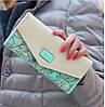 Жіночий шкіряний гаманець love's чорний, фото 2