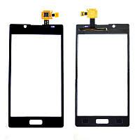 Сенсор (Touch screen) LG P700/ P705 Optimus l7 черный оригинал