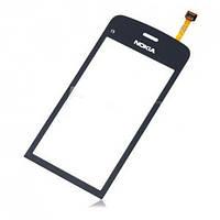 Сенсор (Touch screen) Nokia C5-03/ C5-06 черный копия