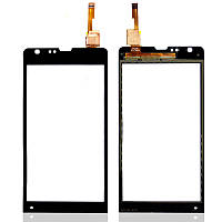Сенсор (Touch screen) Sony C5302 M35h Xperia SP/ C5303 M35i Xperia SP черный