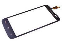 Сенсор (Touch screen) Lenovo A390T 3G черный (10 пин)