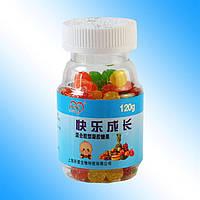Яркие и вкусные детские витамины Кальций и цинк - Детские конфеты 4-7лет120г