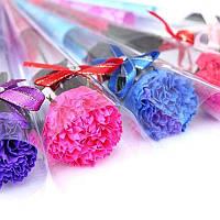Натуральное мыло ручной работы Букет Цветок Гвоздика