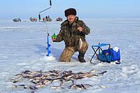 Зимняя рыбалка, снасти для рыб...