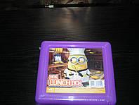 Ланч Бокс детский для обедов миньон