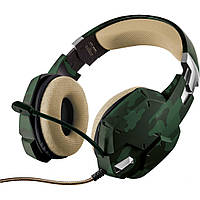 Наушники Trust GXT 322C Gaming Headset Green Camouflage (20865)