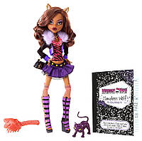 Monster High Original Favorites Clawdeen Wolf (Клодин Вульф базовая с питомцем), фото 1