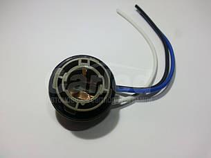 """Роз'єм (SOCKETS)  з дротами  """"мама"""" для двоконтактних ламп BAY15D-1157 (P21 / 5W) універсальний"""