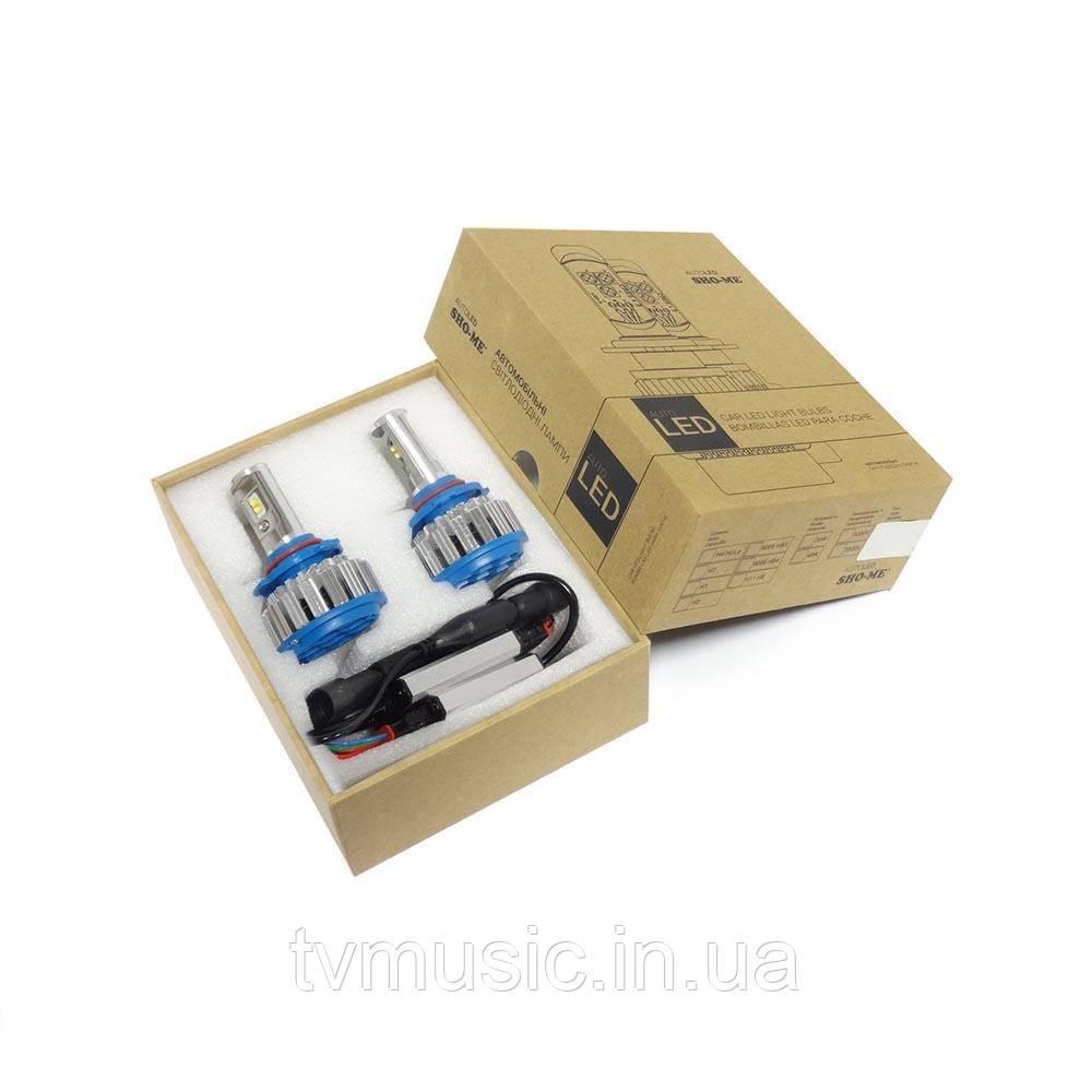 LED лампы Sho Me G1.5 HB3 (9005) 6000K 35W
