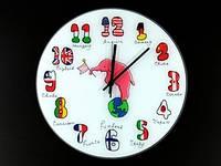 Настенные интерьерные часы Слоник
