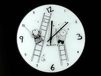 Круглые настенные часы Лестницы