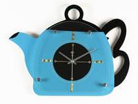 Настенные часы для кухни Чайник