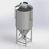 ЦКТ (ферментор) на 200 литров для брожения и карбонизации до 2 амт. с автоматикой температуры