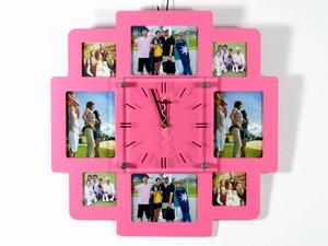 Часы мультирамка настенные для интерьера