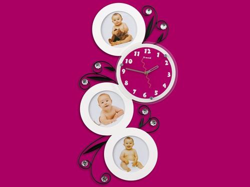 Яскраві годинник на стіну інтер'єрні