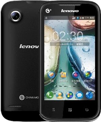 Бюджетный смартфон Lenovo A298t Black WHITE