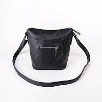 Маленькая сумочка черного цвета на плечо