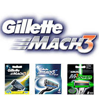 Gillette Mach3 кассеты и сменные лезвия из Германии. С 100% гарантией возврата.