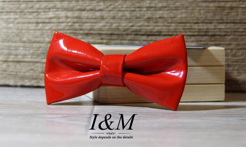 Кожаная галстук-бабочка I&M (010834), фото 2