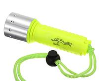 Подводный фонарик на ярком светодиоде CREE XM-L T6. Хорошее качество. Фонарик для дайвинга. Код: КДН1245