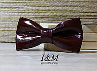 Кожаная галстук-бабочка I&M (010806)