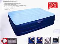 Надувная,кровать,с электро насосом,203х102х48