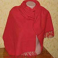Шарф - шаль, широкий и очень теплый 185х46см