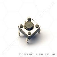 Кнопка тактовая 6х6х5 мм TACT-65K-F