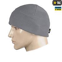 M-TAC ШАПКА WATCH CAP ФЛИС (330Г/М2) СЕРАЯ, фото 1