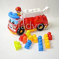 Детская пожарная машина Mega Bloks конструктор