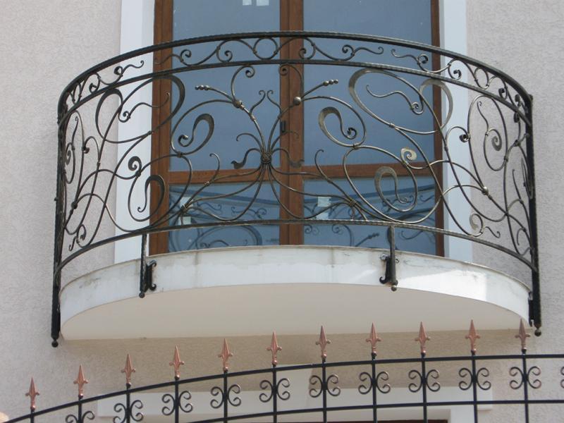 Кованые балконы - Евроковка в Киеве