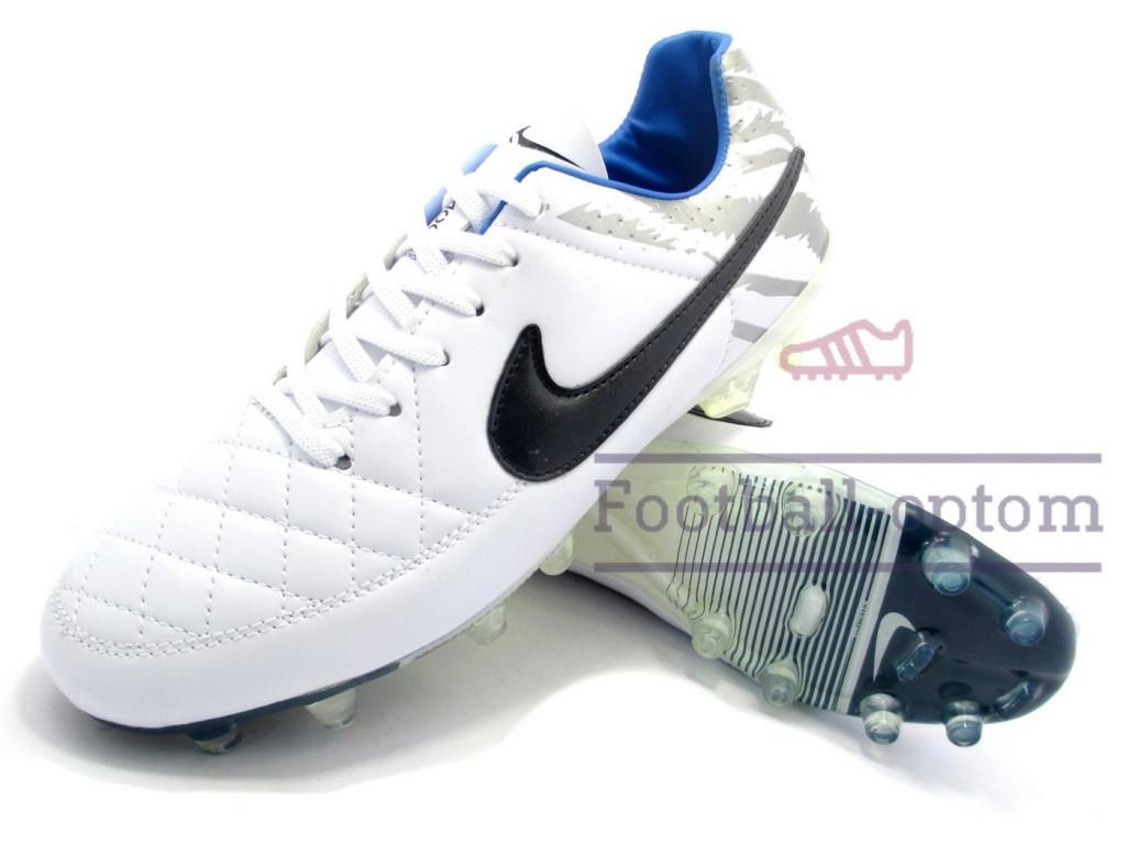 Футбольные бутсы (копы) найк Nike Tiempo Размер 44, Длина стельки 28 -  Shopni 6d49607be99
