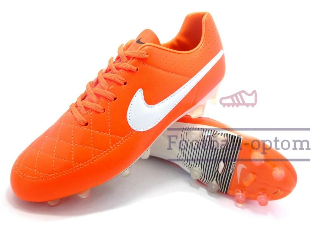 Футбольные бутсы (копы) найк Nike Tiempo Размер 42, Длина стельки 26 ... 26081e23134